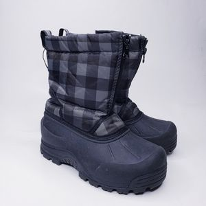 Northside Thinsulate Black Winter Snow Boots Size